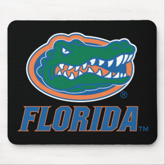 Cabeza del cocodrilo de la Florida Mouse Pads