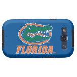 Cabeza del cocodrilo de la Florida - naranja y bla Galaxy S3 Carcasa