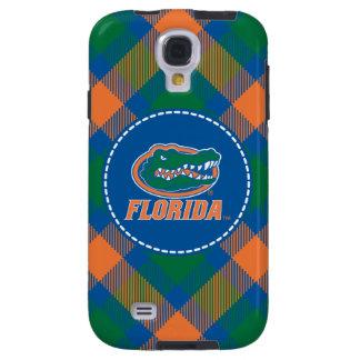 Cabeza del cocodrilo de la Florida - naranja y bla Funda Para Galaxy S4