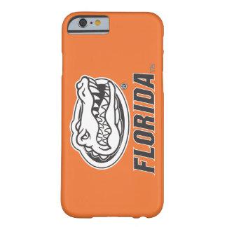 Cabeza del cocodrilo de la Florida - negro y Funda De iPhone 6 Barely There
