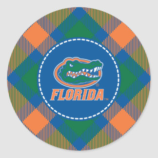 Cabeza del cocodrilo de la Florida Pegatina Redonda