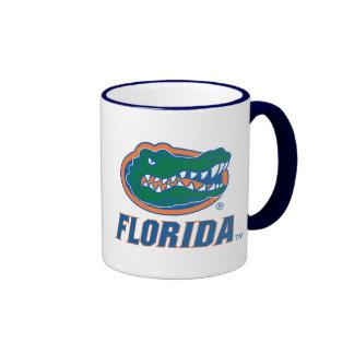 Cabeza del cocodrilo de la Florida Taza De Dos Colores