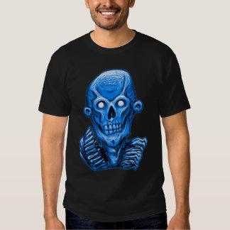 Cabeza del cráneo del zombi por Rustyoldtown Remeras