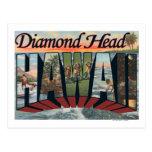 Cabeza del diamante, Hawaii - escenas grandes de Postales