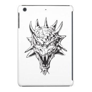 Cabeza del dragón en blanco carcasa para iPad mini retina