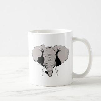 Cabeza del elefante tazas