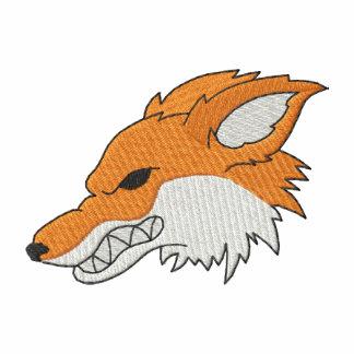 Cabeza del Fox Sudadera Bordada