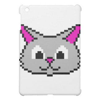 Cabeza del gato del pixel