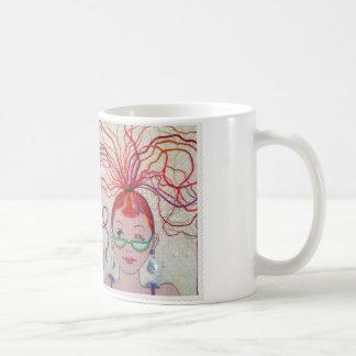 ¡Cabeza del hilo! Taza De Café
