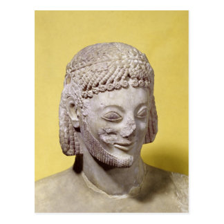 Cabeza del jinete de Rampin, c.550-540 A.C. Postal