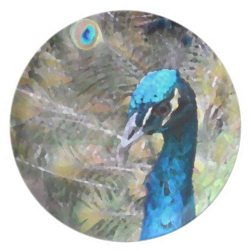 cabeza del lado izquierdo de la mirada de la pintu platos