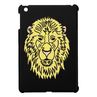 Cabeza del león del oro