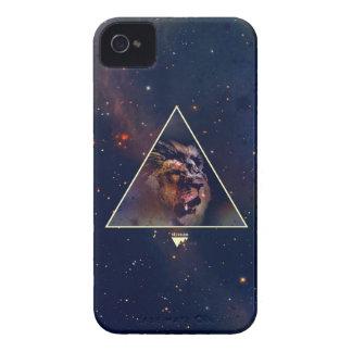 Cabeza del león del triángulo de la galaxia - Tren iPhone 4 Funda