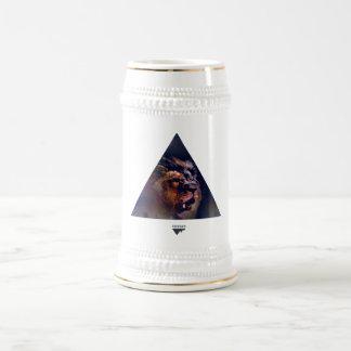 Cabeza del león del triángulo de la galaxia - Tren Tazas De Café