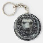 Cabeza del león llaveros personalizados