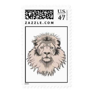 Cabeza del león sellos