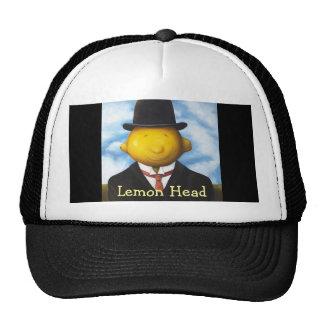 Cabeza del limón gorra