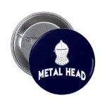 Cabeza del metal pin
