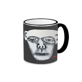 Cabeza del mono taza de café