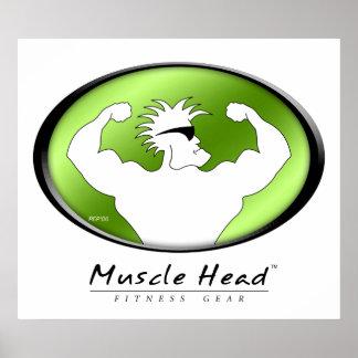Cabeza del músculo poster