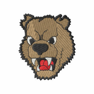Cabeza del oso camiseta polo