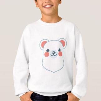 Cabeza del oso polar polera