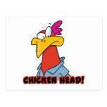 Cabeza del pollo postal