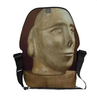 Cabeza del retrato de la esteatita, Mohenjodaro, 2 Bolsa Messenger