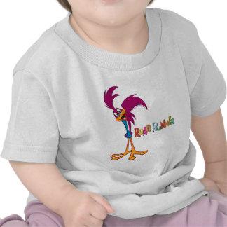 Cabeza del Roadrunner inclinada Camiseta