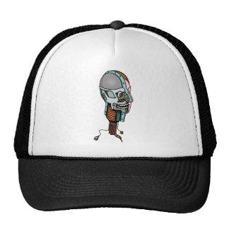 Cabeza del robot gorras de camionero