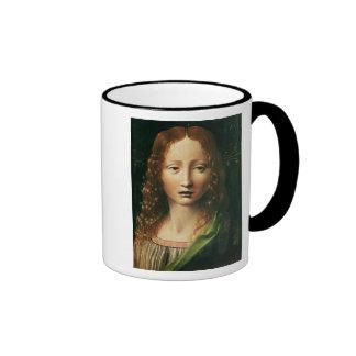 Cabeza del salvador taza de café