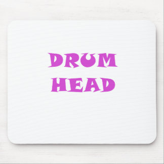 Cabeza del tambor tapete de ratón