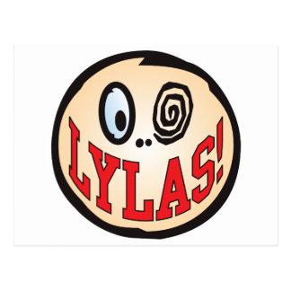 Cabeza del texto de LYLAS Postal