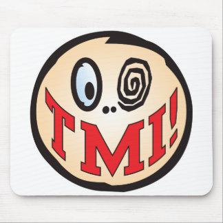 Cabeza del texto del TMI Alfombrillas De Ratón