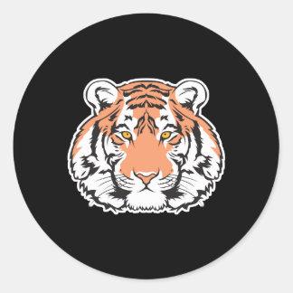 cabeza del tigre de Bengala Pegatina