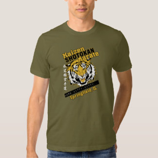 Cabeza del tigre de Kaizen Camisas