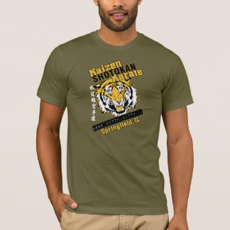 Cabeza del tigre de Kaizen Playera