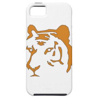 Cabeza del tigre iPhone 5 Case-Mate coberturas