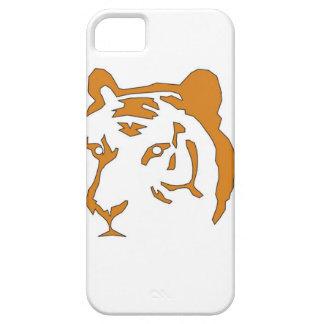 Cabeza del tigre iPhone 5 carcasa