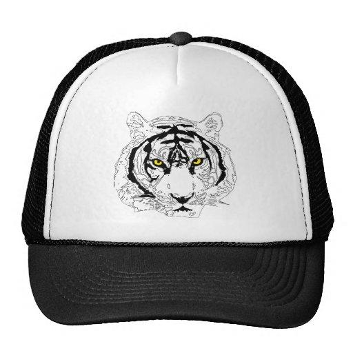 Cabeza del tigre gorros