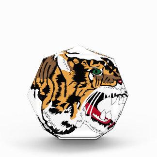 Cabeza del tigre - holandés - remiendos