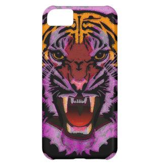 Cabeza del tigre, ilustraciones del tigre, gato sa