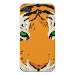 CABEZA DEL TIGRE iPhone 4/4S CARCASA