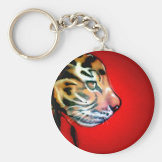 Cabeza del tigre llavero