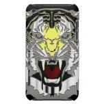 Cabeza del tigre, Metálico-mirada, gato salvaje, a Barely There iPod Coberturas
