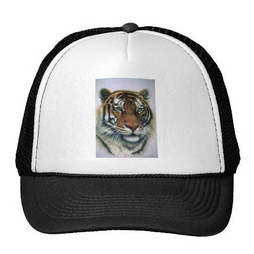 Cabeza del tigre siberiano gorros