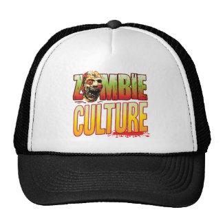 Cabeza del zombi de la cultura gorras