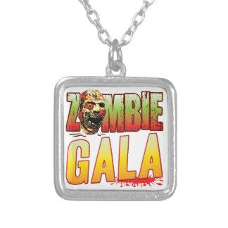 Cabeza del zombi de la gala pendientes personalizados