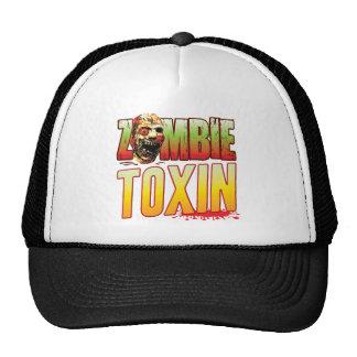 Cabeza del zombi de la toxina gorras de camionero