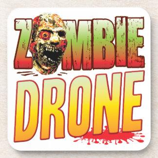 Cabeza del zombi del abejón posavaso